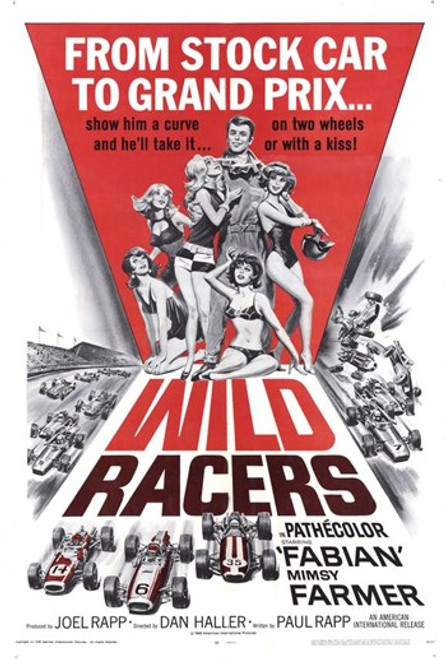 Wild Racers Movie Poster (11 x 17) - Item # MOV170453