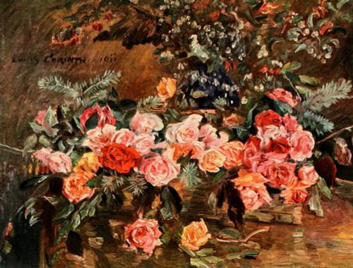 Roses 1911 Poster Print by  Lovis Corinth - Item # VARPPHPDP91319