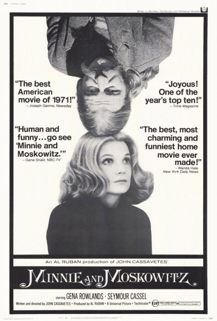 Minnie and Moskowitz Movie Poster Print (27 x 40) - Item # MOVIH6642