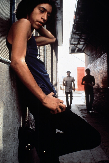 1970S America. Three Young Chicano Men In The Barrio Area Of El Paso History - Item # VAREVCHCDARNAEC062