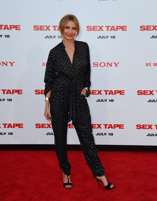 Cameron Diaz At Arrivals For Sex Tape Premiere, The Regency Village Theatre, Los Angeles, Ca July 10, 2014. Photo By Dee CerconeEverett Collection Celebrity - Item # VAREVC1410L04DX088