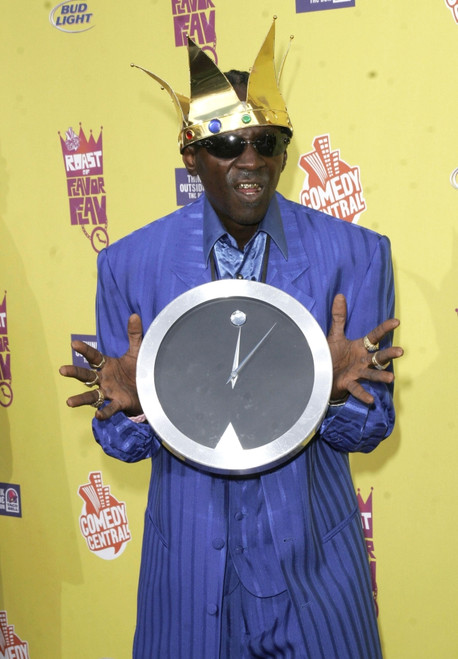 Flava Flav At Arrivals For Comedy Central'S Roast Of Flavor Flav, The Warner Brothers Studio Lot, Los Angeles, Ca, July 22, 2007. Photo By Adam OrchonEverett Collection Celebrity - Item # VAREVC0722JLADH020