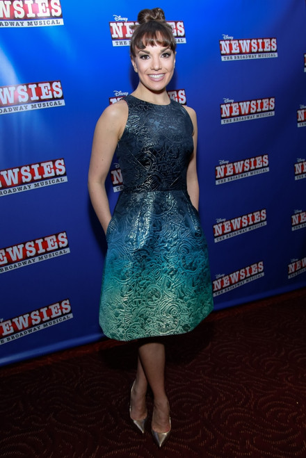 Kara Lindsay At Arrivals For Disney_S Newsies The Broadway Musical Premiere, Amc Loews Lincoln Square 13, New York, Ny February 13, 2017. Photo By Jason MendezEverett Collection Celebrity - Item # VAREVC1713F01C8015