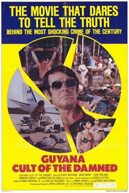 Guyana Cult of the Damned Movie Poster (11 x 17) - Item # MOV249634