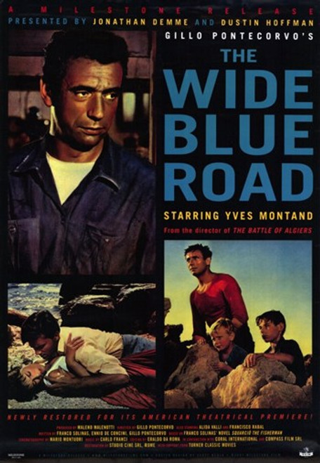 The Wide Blue Road Movie Poster (11 x 17) - Item # MOV205160