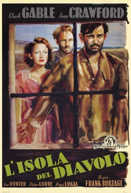 Strange Cargo Movie Poster (11 x 17) - Item # MOV254790