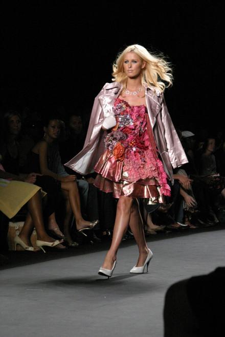 Nicky Hilton Inside For Heatherette 2006 SpringSummer Fashion Show, Bryant Park, New York, Ny, September 16, 2005. Photo By Rob RichEverett Collection Celebrity - Item # VAREVC0516SPBOH018