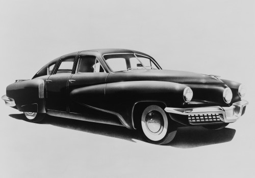 1948 Tucker Automobile Was Ahead Of Its Time With Many Advanced Engineering And Safety Features. The Story Of The Car Is Told In The 1988 Film History - Item # VAREVCHISL007EC017
