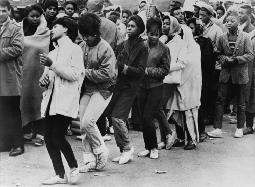 African American Women Dance At A Civil Rights Demonstration. Over The First Three Weeks Of March 1965 History - Item # VAREVCHISL033EC625