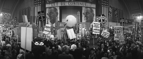 Delegates And Stage At The 1964 Democratic National Convention History - Item # VAREVCHISL039EC970