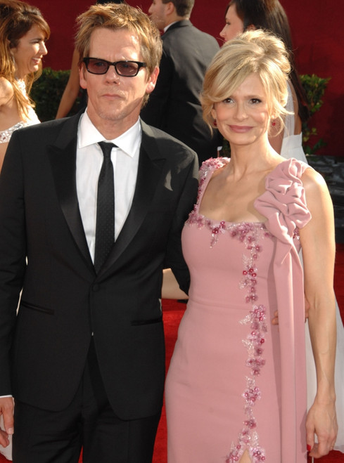Kevin Bacon, Kyra Sedgwick At Arrivals For 61St Primetime Emmy Awards - Arrivals, Nokia Theatre, Los Angeles, Ca September 20, 2009. Photo By Dee CerconeEverett Collection Celebrity - Item # VAREVC0920SPCDX287