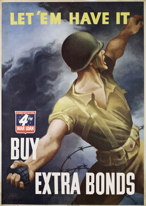 World War Ii Bond Poster N Buy War Bonds American World War Ii Poster By N C Wyeth 1942 Poster Print By Granger Collection Item Vargrc0064770 Posterazzi