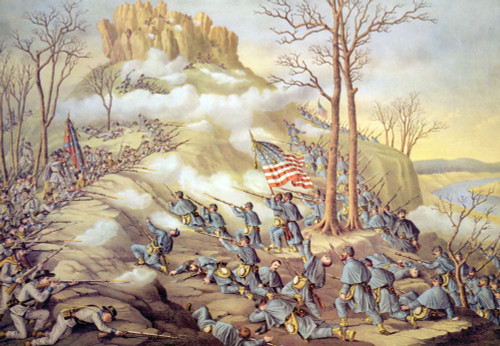 The Battle Of Lookout Mountain History - Item # VAREVCH4DCIWAEC057