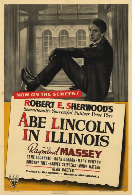 Abe Lincoln in Illinois Movie Poster Print (27 x 40) - Item # MOVEF9190