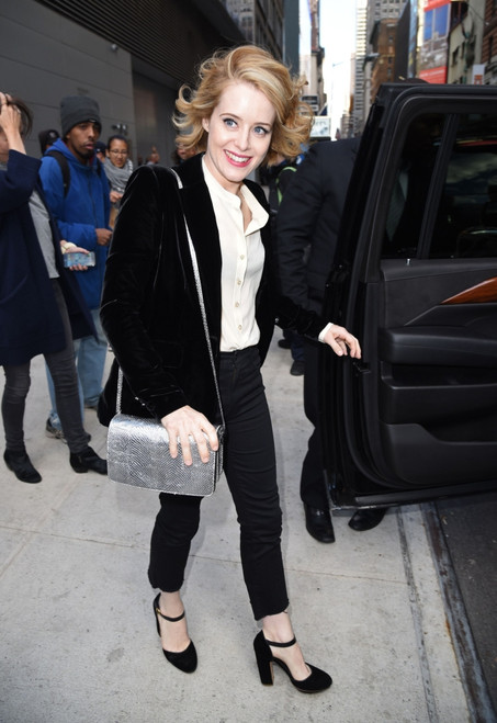 Claire Foy Out And About For Celebrity Candids - Mon, , New York, Ny October 24, 2016. Photo By Derek StormEverett Collection Celebrity - Item # VAREVC1624O01XQ009