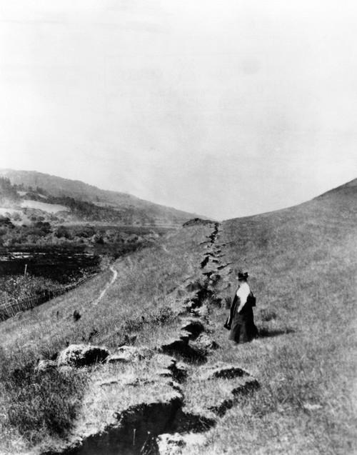 California Earthquake History - Item # VAREVCCSUA001CS318