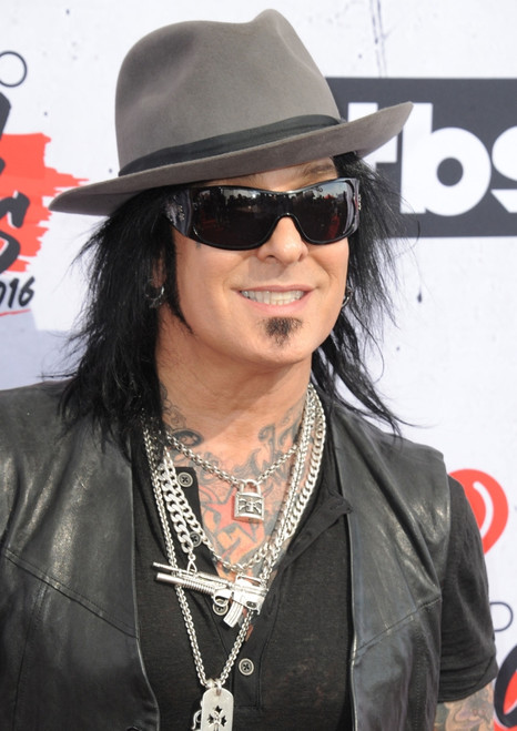 Nikki Sixx At Arrivals For The Iheartradio Music Awards 2016 - Arrivals 2, The Forum, Los Angeles, Ca April 3, 2016. Photo By Dee CerconeEverett Collection Celebrity - Item # VAREVC1603A09DX052