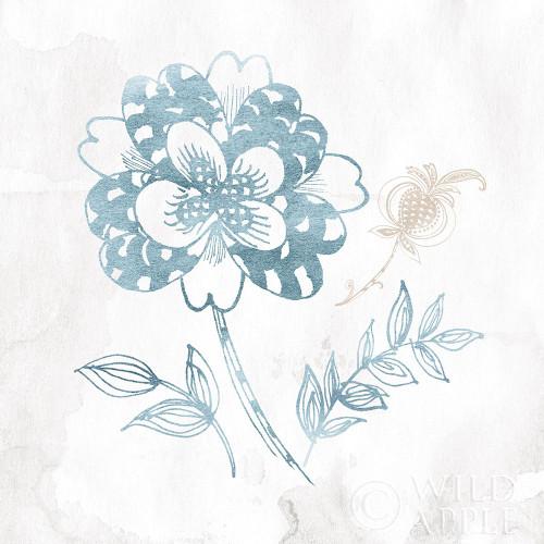 Eastern Boho Iii Teal Poster Print by Wild Apple Portfolio - Item # VARPDX37352