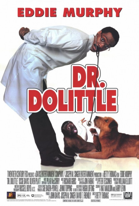 Dr. Dolittle Movie Poster Print (27 x 40) - Item # MOVEF2431
