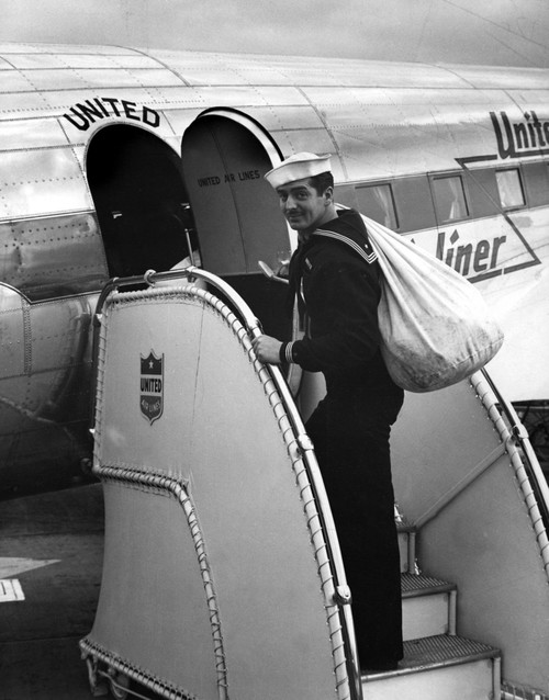 Victor Mature In Coast Guard Uniform History - Item # VAREVCPBDVAMAEC004