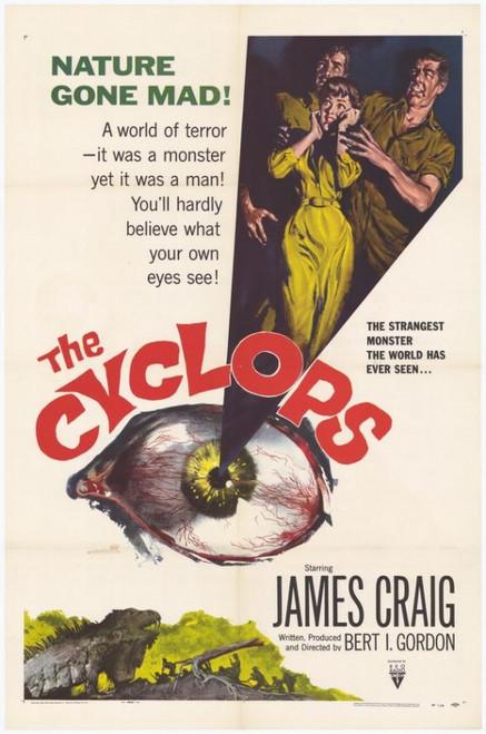 The Cyclops Movie Poster Print (27 x 40) - Item # MOVCF2385