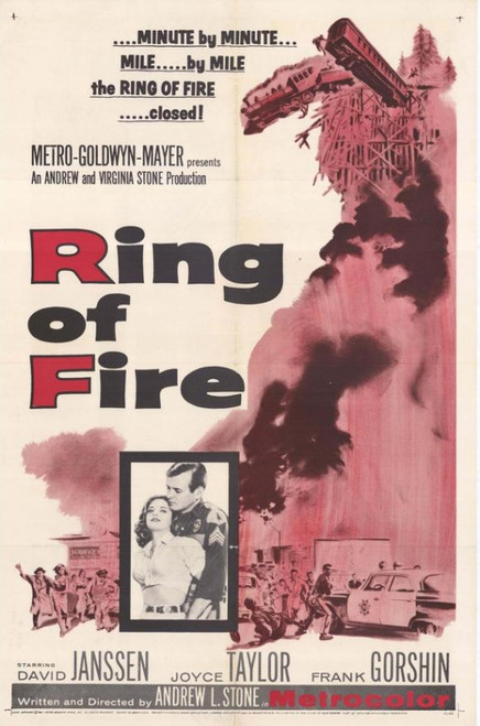 Ring of Fire Movie Poster Print (27 x 40) - Item # MOVGH6191