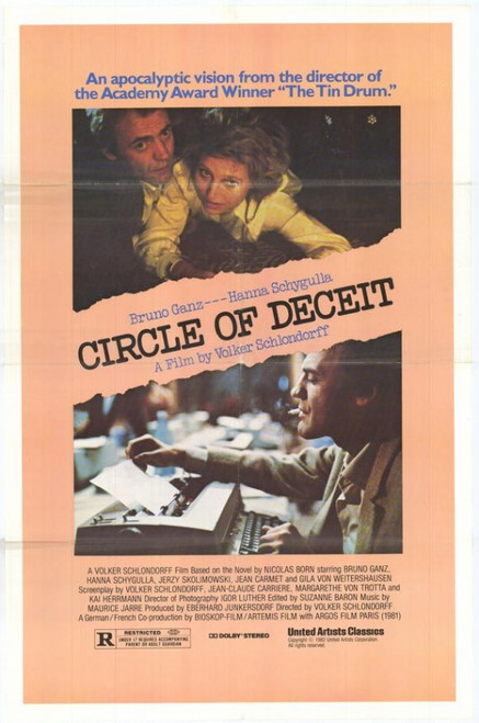 Circle of Deceit Movie Poster Print (27 x 40) - Item # MOVGH9300