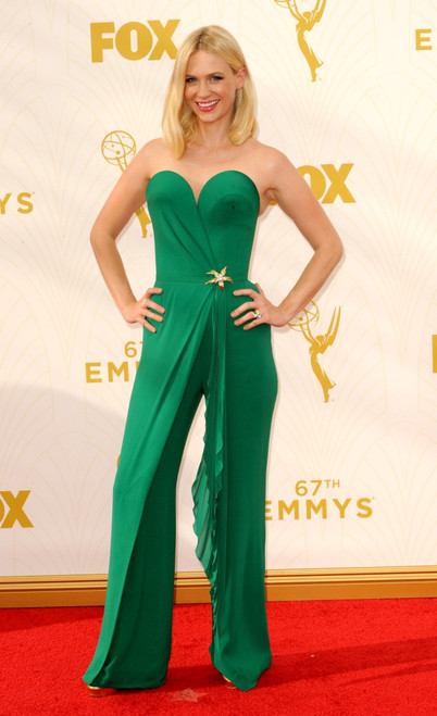January Jones At Arrivals For 67Th Primetime Emmy Awards 2015 - Arrivals 2, The Microsoft Theater, Los Angeles, Ca September 20, 2015. Photo By Elizabeth GoodenoughEverett Collection Celebrity - Item # VAREVC1520S06UH134