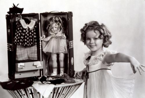 Shirley Temple With A Shirley Temple Doll Kit History - Item # VAREVCPSDSHTECS005