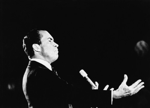 1968 Us Presidential Campaign. Republican Presidential Candidate Richard Nixon History - Item # VAREVCPBDRINIEC071