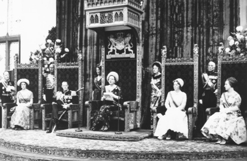 Queen Juliana Delivers 'Speech From The Throne' At The State Opening Of Dutch Legislature. Sept. 21 History - Item # VAREVCCSUB001CS631