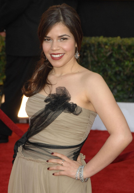 America Ferrera At Arrivals For 15Th Annual Screen Actors Guild Sag Awards - Arrivals, Shrine Auditorium, Los Angeles, Ca, January 25, 2009. Photo By Dee CerconeEverett Collection Celebrity - Item # VAREVC0925JADDX093