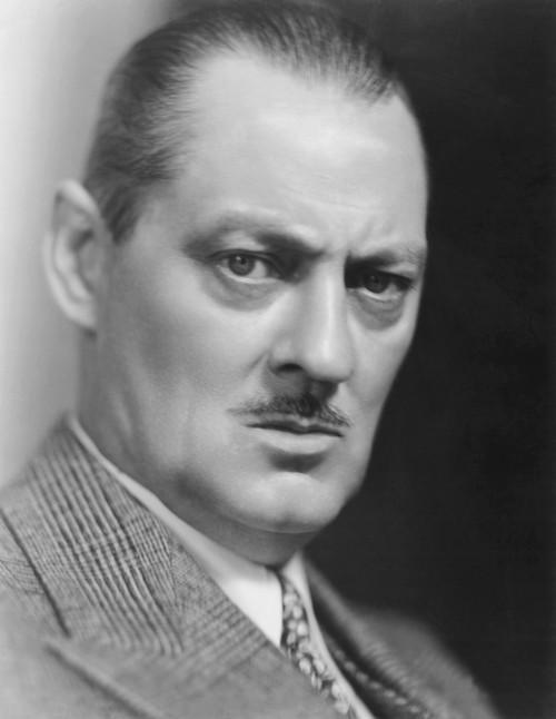 Lionel Barrymore Portrait - Item # VAREVCPBDLIBAEC019