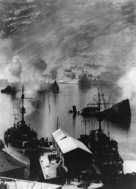 German Captured Narvik History - Item # VAREVCHISL037EC014