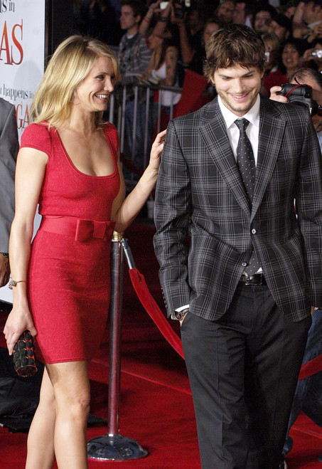 Cameron Diaz, Ashton Kutcher At Arrivals For What Happens In Vegas Premiere, Mann'S Village Theatre In Westwood, Los Angeles, Ca, May 01, 2008. Photo By Jared MilgrimEverett Collection Celebrity - Item # VAREVC0801MYAMQ012