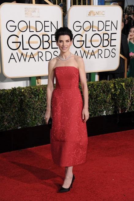 Julianna Margulies At Arrivals For The 72Nd Annual Golden Globe Awards 2015 - Part 1, The Beverly Hilton Hotel, Beverly Hills, Ca January 11, 2015. Photo By Linda WheelerEverett Collection - Item # VAREVC1511J18A1010
