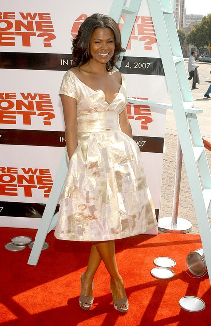 Nia Long At Arrivals For The Premiere Of Are We Done Yet, Mann'S Village Theatre In Westwood, Los Angeles, Ca, April 01, 2007. Photo By Tony GonzalezEverett Collection Celebrity - Item # VAREVC0701APEGO017