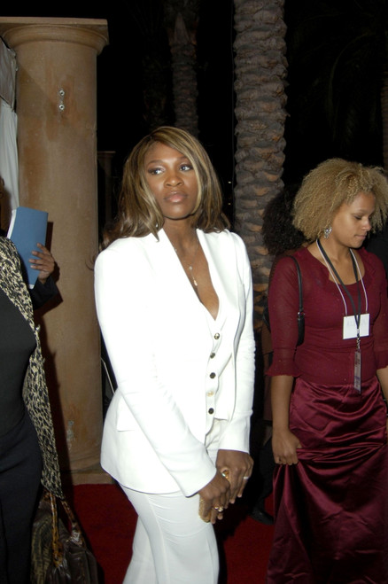 Serena Williams At Arrivals For Bet Silver Anniversary Celebration, The Shrine Auditorium, Los Angeles, Ca, October 26, 2005. Photo By Michael GermanaEverett Collection Celebrity - Item # VAREVC0526OCDGM077