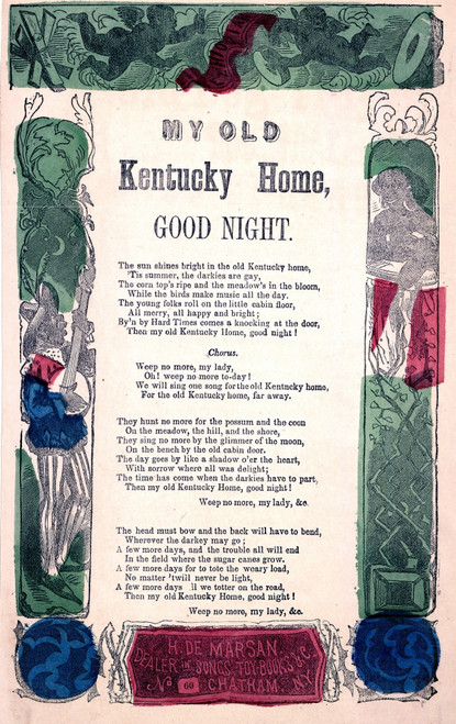 My Old Kentucky Home History - Item # VAREVCHCDLCGAEC276