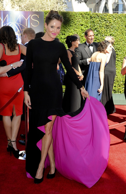 Erinn Hayes At Arrivals For 2014 Creative Arts Emmy Awards - Arrivals, Nokia Theatre L.A. Live, Los Angeles, Ca August 16, 2014. Photo By Elizabeth GoodenoughEverett Collection Celebrity - Item # VAREVC1416G01UH094