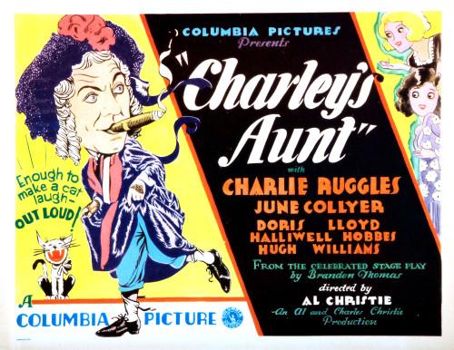 Charley'S Aunt Still - Item # VAREVCMCDCHAUEC006
