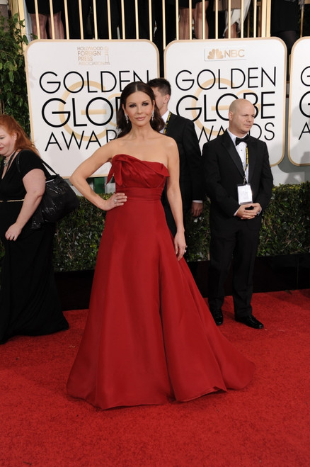 Catherine Zeta-Jones At Arrivals For The 72Nd Annual Golden Globe Awards 2015 - Part 1, The Beverly Hilton Hotel, Beverly Hills, Ca January 11, 2015. Photo By Linda WheelerEverett Collection Celebrity - Item # VAREVC1511J18A1105