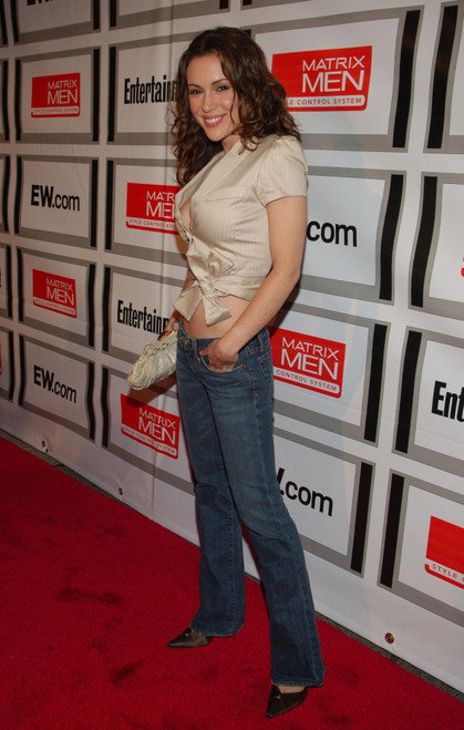 Alyssa Milano At Arrivals For Entertainment Weekly And Matrix Men Upfront Party, The Manor, New York, Ny, May 16, 2006. Photo By Slaven VlasicEverett Collection Celebrity - Item # VAREVC0616MYEPV042