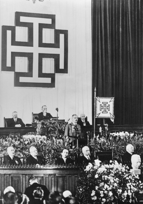 Under Emblem Of The Fatherland Front Of Austria History - Item # VAREVCHISL040EC285