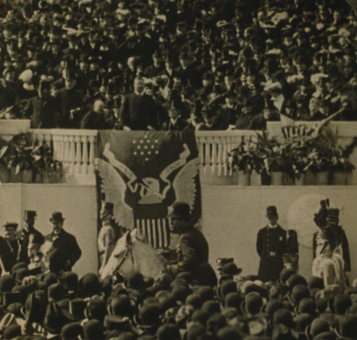 President Theodore Roosevelt Delivering His Inaugural Address In Front Of The Capitol History - Item # VAREVCHISL013EC170