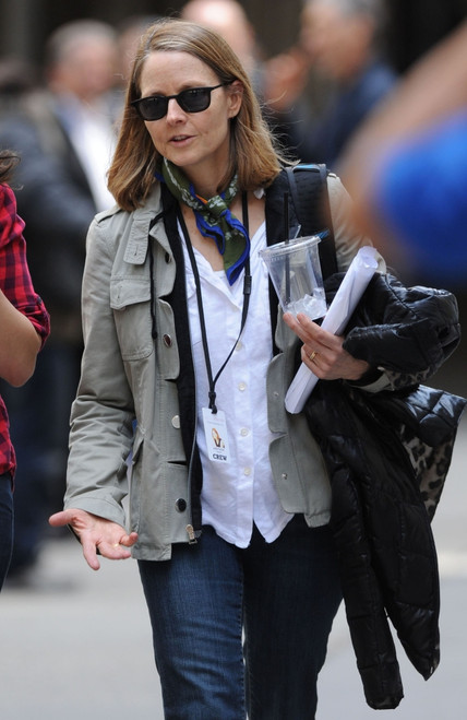 Jodie Foster On Location For Money Monster Movie Shoot, , New York, Ny April 18, 2015. Photo By Kristin CallahanEverett Collection Celebrity - Item # VAREVC1518A10KH068