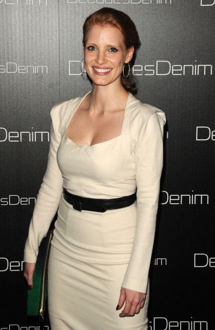 Jessica Chastain At Arrivals For Decades Denim Launch Party, Home Of Julia Sorkin, Beverly Hills, Ca November 2, 2010. Photo By Dee CerconeEverett Collection Celebrity - Item # VAREVC1002N03DX068