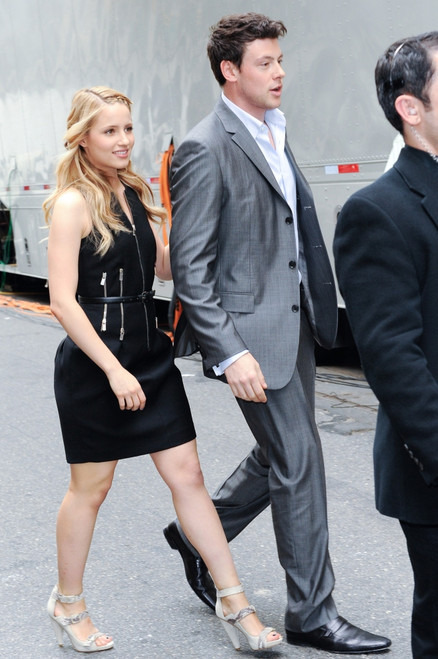 Dianna Agron, Cory Monteith, Enter The Beacon Theater Out And About For Celebrity Candids - Monday, , New York, Ny May 17, 2010. Photo By Ray TamarraEverett Collection Celebrity - Item # VAREVC1017MYCTY057