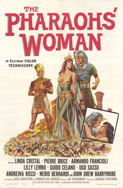 The Pharaohs Woman Movie Poster Print (27 x 40) - Item # MOVEH6194