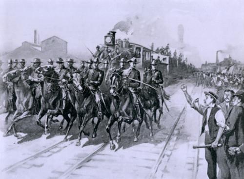 During The Pullman Strike Of 1894 History - Item # VAREVCHISL021EC240